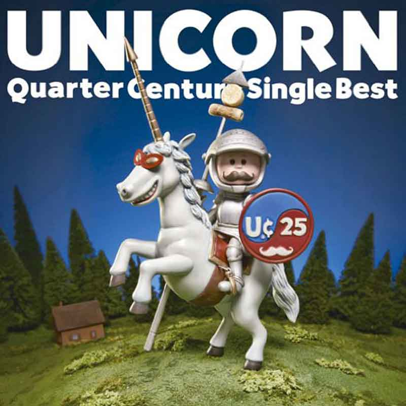 UNICORN「Quarter Century Single Best Original recording 」