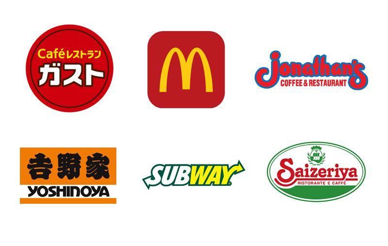 飲食系ロゴデザイン