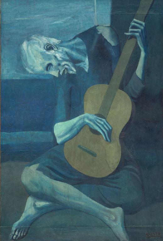 「老いたギター弾き」(1904年)