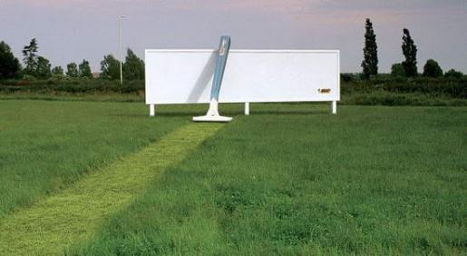 カミソリの広告