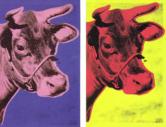 アンディ・ウォーホル「牛」
