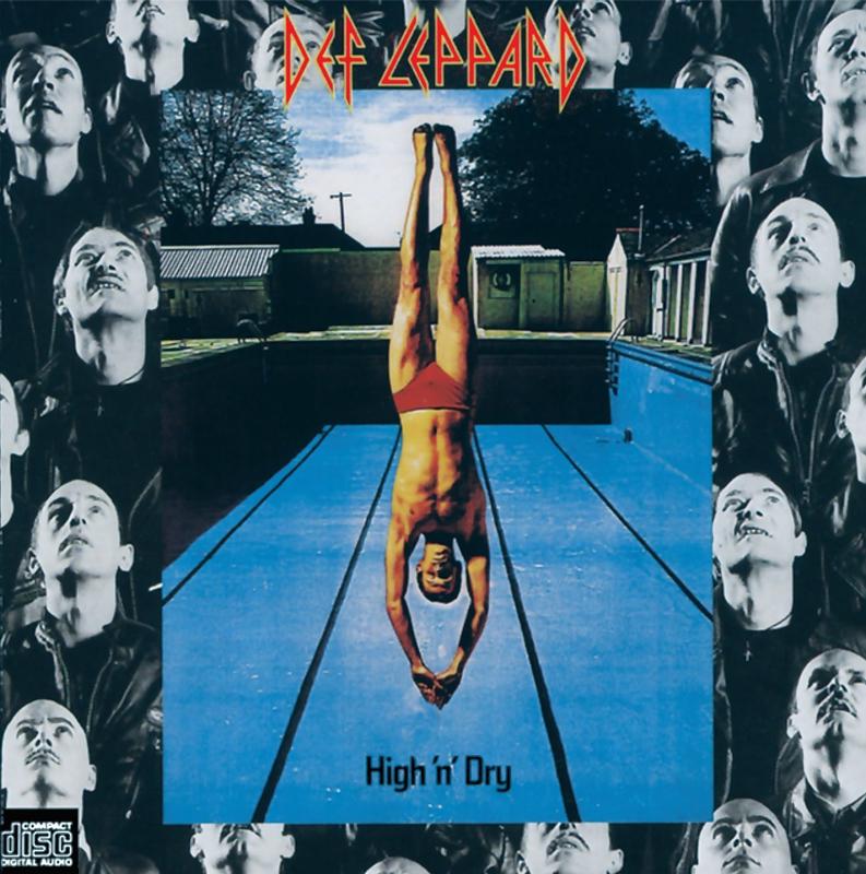DEF LEPPARD「High 'n' Dry」