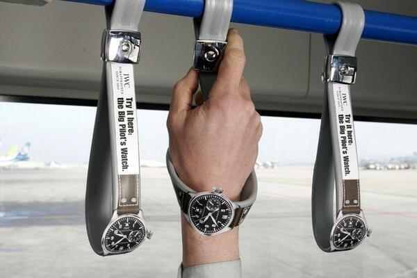 腕時計の広告